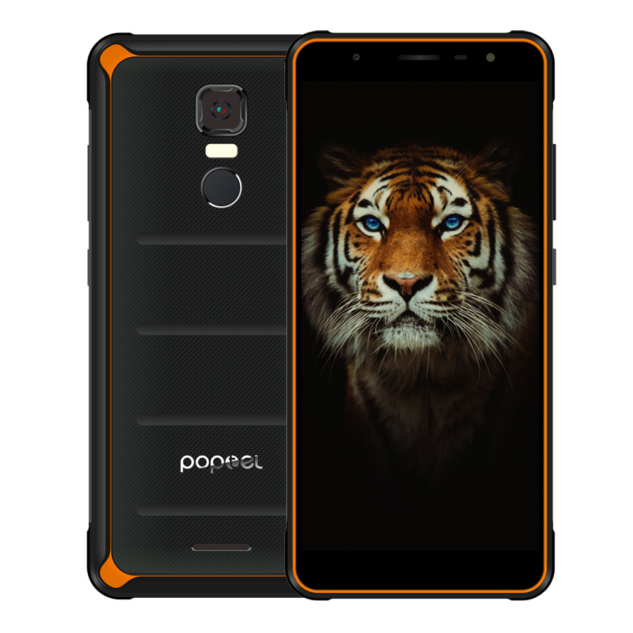 new arrivals 630ce 993dd US $229.99 |POPTEL P10 NFC 5.5'' HD Android 8.1 mobile phone IP68  waterproof Gorilla Glass 4GB RAM 64GB ROM 13mp+8mp OTG OTA 4G smartphone  -in Mobile ...