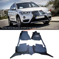 For BMW X1 F48 2016 2017 Right & Left Hand Drive Black Front Rear Floor Mat Carpets Pad cover