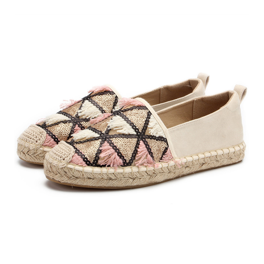 2019 spring flat espadrilles loafer,Women Driving Loafers Comfortable Flat Shoes