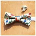 Novidade Criança Do Menino Do Miúdo do Casamento Bow Tie-Dinossauro Animal Bonito Bowtie