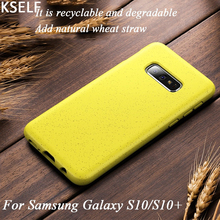 KSELF New Soft TPU Shockproof Protecitve Case for Samsung Galaxy S10 Lite Silicone Phone Plus S10e Candy