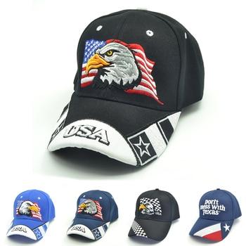 4 colors USA Flag Embroidery Baseball Cap Eagle Men Women Snapback Caps Casquette Hats Casual Gorras Dad Hats bone недорого
