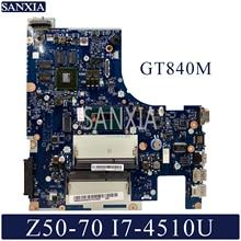 Kefu NM-A273 ноутбук материнская плата для Lenovo Z50-70 Тесты оригинальная материнская плата I7-4510U GT840M