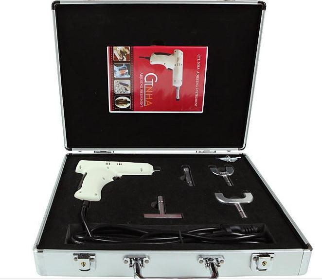 New Professional original 4 Heads chiropractic adjusting instrument /Impulse adjuster/Electric Correction Gun Activator Massag