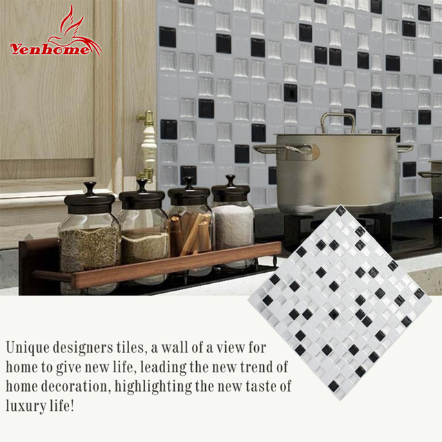 self adhesive 3d wall panel tile stickers peel and stick wallpaper