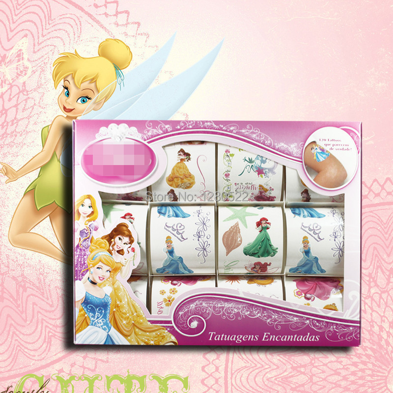 12 יח ' קופסא ילדים צעצוע מדבקת קעקוע - קעקוע ואמנות גוף