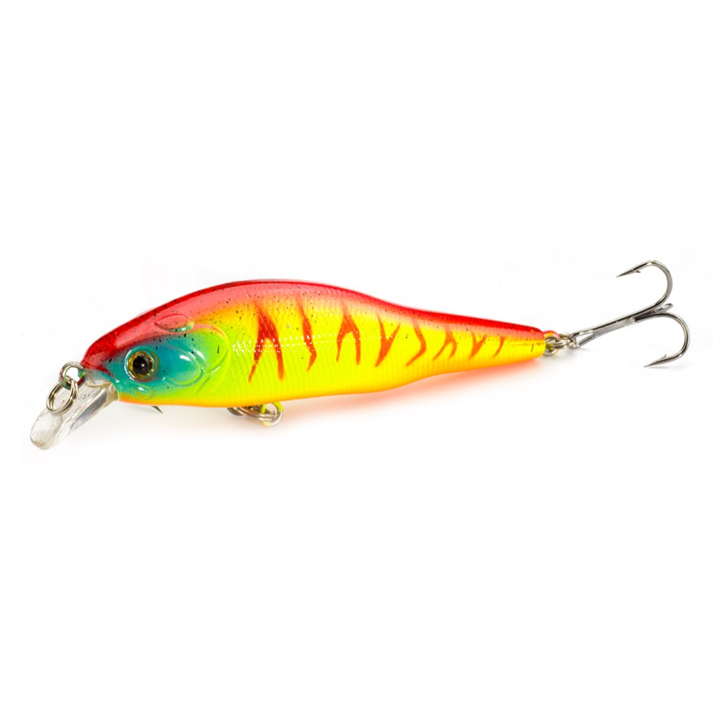 1PCS Fishing Lure 9CM 9.5G Minnow 3D Eyes Jerkbait Plastic Artificial Hard Lure Lifelike 6# hook fly fishing Crankbait цена