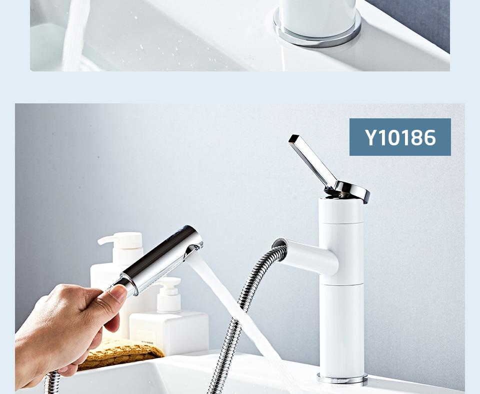 HTB1GNzYXfvi21VjSZK9q6yAEpXaO - FRAP Basin Faucet Pull Out Bathroom Sink Faucet Single Handle Waterfall Bathroom faucet