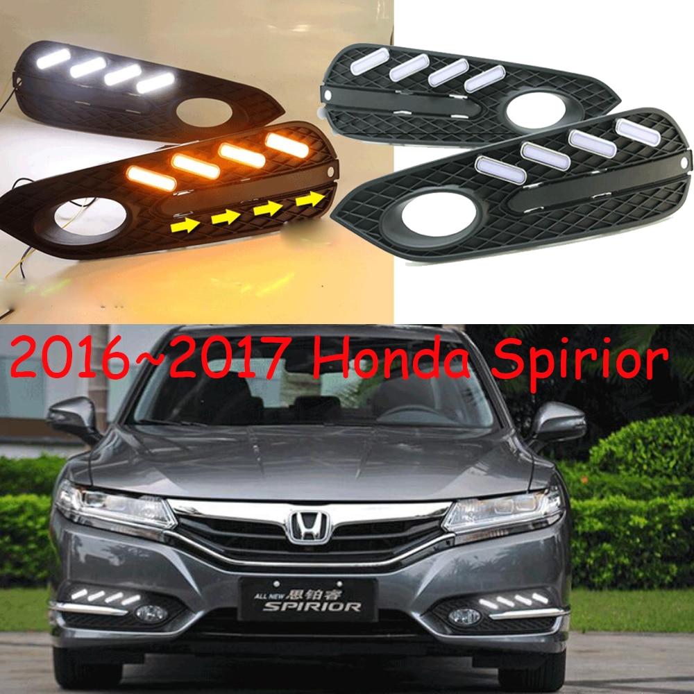 car-styling,2016~2018 Spirior daytime light,Free ship!LED,car accessories,XRV,Crosstour,CRX,CR-Z,Element,Spirior fog light