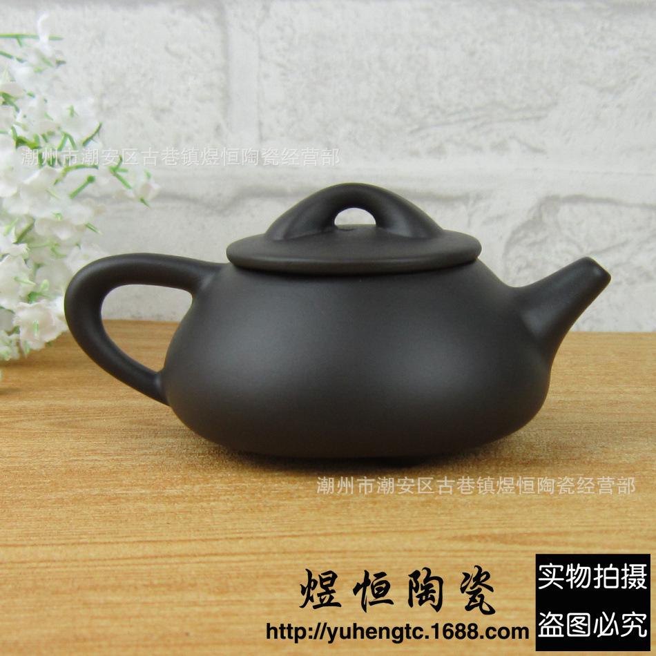 Promotion authentic yixing teapot kung fu tea set Purple clay tea pot handmade kettle 120ml Chinese