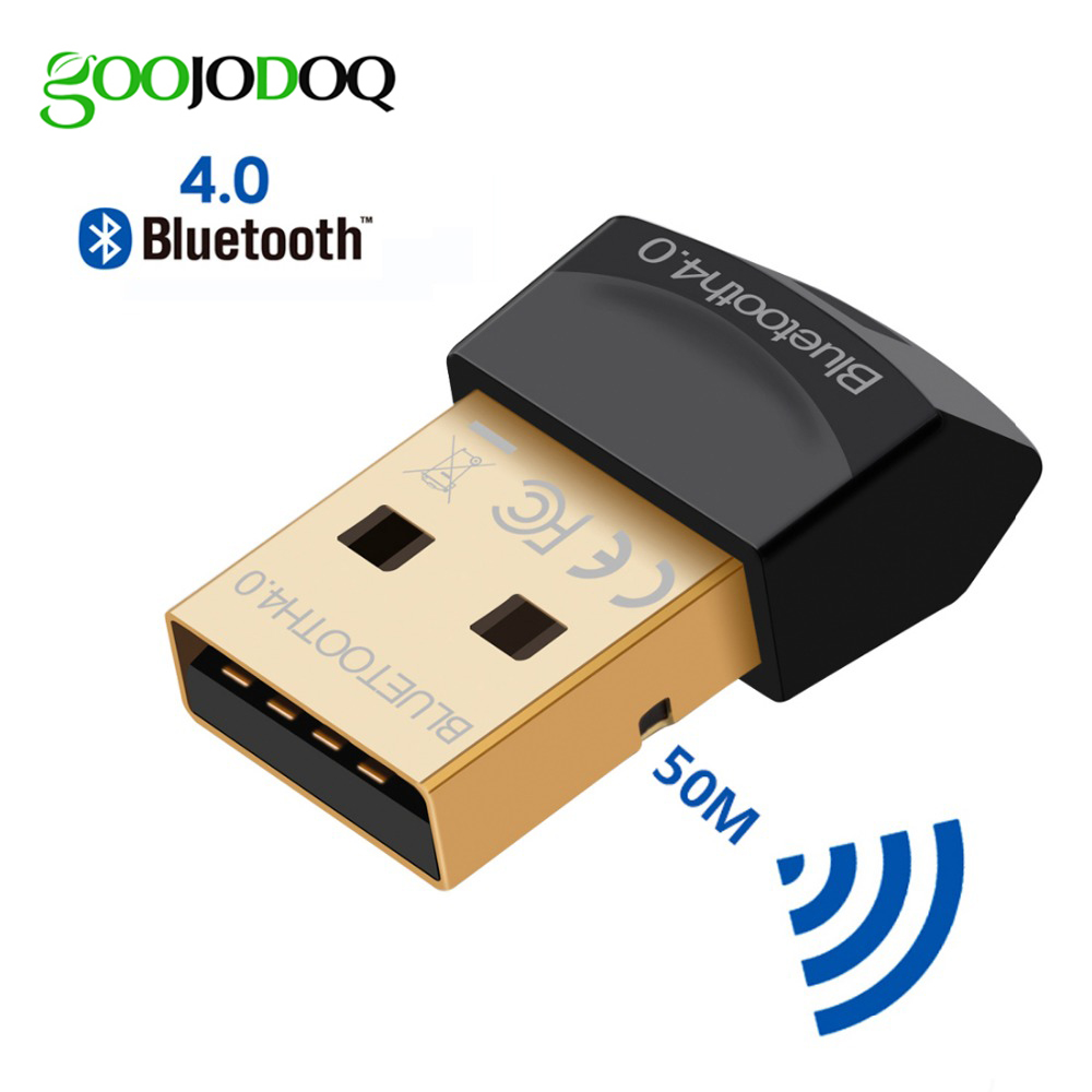 <font><b>Bluetooth</b></font> Adapter V4.0 CSR Dual Modus Wireless Mini <font><b>USB</b></font> <font><b>Bluetooth</b></font> Dongle 4,0 Sender für Computer PC image