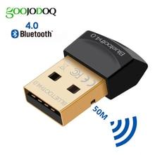 Adaptateur Bluetooth V4.0 CSR 4.0, Mini Dongle USB sans fil, double Mode, transmetteur Dongle pour ordinateur et PC