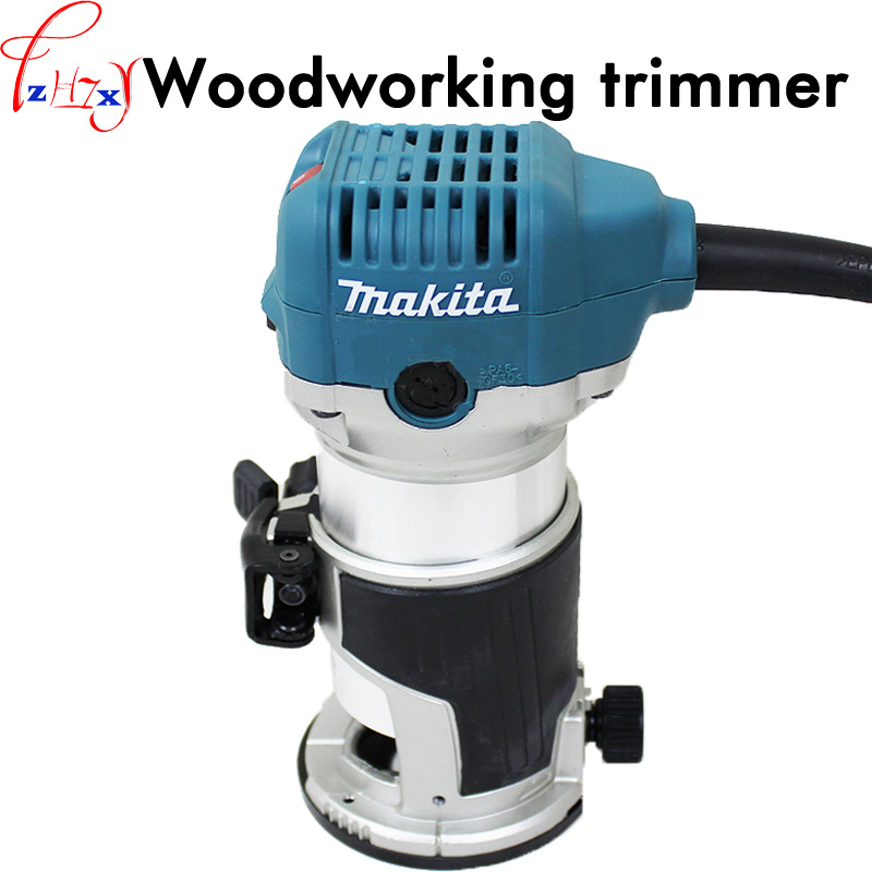 Handheld woodworking trimming machine RT0700C electricity woodworking slotting machine saw for wood trimming tools 220V 1PC гравировально фрезерный станок makita rt0700c rt0700c