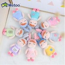 Metoo Stuffed Dolls Plush Animal toys for Children Kawaii Style Mini Angela Rabbit