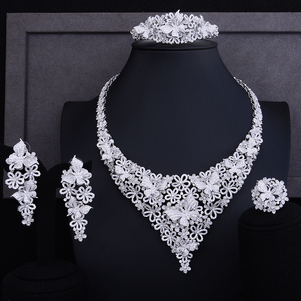 GODKI Luxury Nigerian Bridal  jewelry set with clip Earring Cubic Zirconia african beads jewelry set For Women WeddingGODKI Luxury Nigerian Bridal  jewelry set with clip Earring Cubic Zirconia african beads jewelry set For Women Wedding