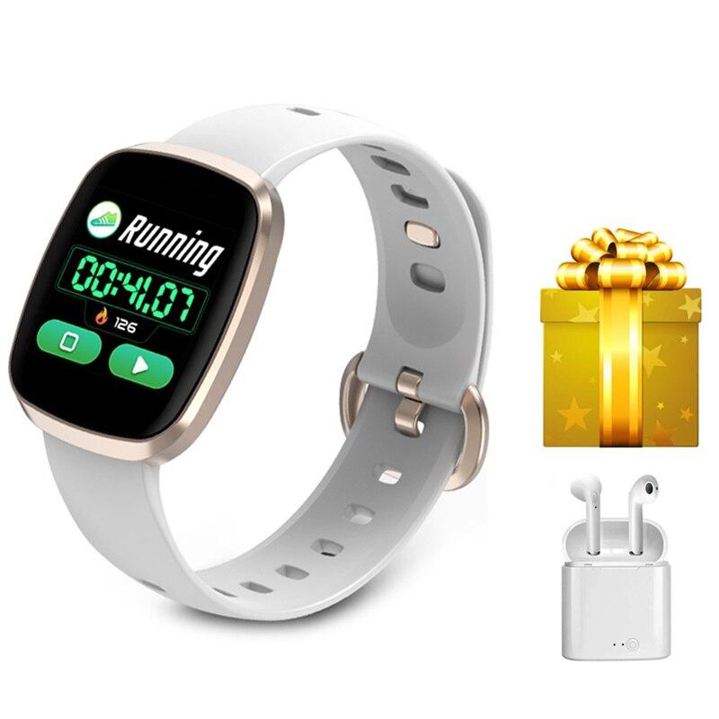Donne smartband braccialetto di sport di forma fisica con monitor della frequenza cardiaca per xiaomi mi banda 3 huawei fascia 2 pro VS ID115 Y5 2019 ultime
