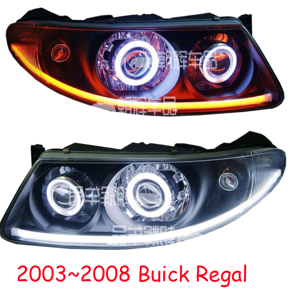 medium resolution of car styling led headlight for regal for 2017 2018 hid xenon 2003 2008 car accessories regal head lamp all led regal head light in car light assembly from