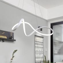 купить White/Black Hot Dimmable Modern LED Pendant Lights for Dining Room Living Room Bar hanglamp suspension luminaire Pendant Lamp дешево