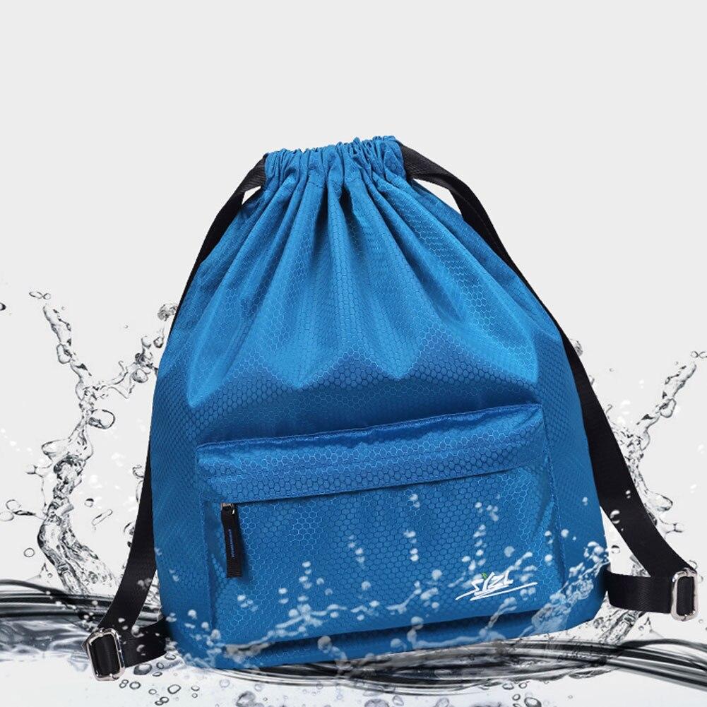 Waterproof Nylon Drawstring Backpacks Sports Casual Lightweight Large Travel Backpack B2Cshop