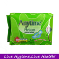 Freeshiiping 240pcs Anytime Anion Sanitary Napkin  245mm for Day Use More Health Higiene Products for Lady Woman Sanitary Pads