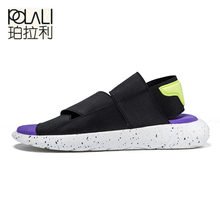 2018 New Arrival Sandals KAOHE SANDALS Outdoor Men Slippers Open-toed Leather sandals Men Sandals G-DRAGON Slides Top Quality