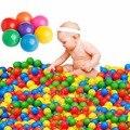 1 Unidades/100 Unids de Colores Bola Bola de la Diversión Soft Océano Bola Plástica Del Bebé Juguete del cabrito Nadar Juguete Water Pool Ocean Wave Bolas de Diámetro 7 cm