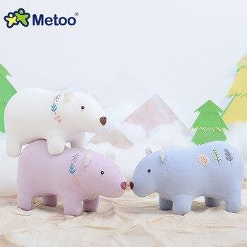 Мягкая плюшевая игрушка милые животные Metoo 2