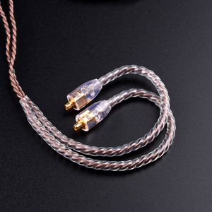 Image 3 - DIY custom fever upgraded headphone line high quality  metal accessories pure hand woven single crystal copper wire