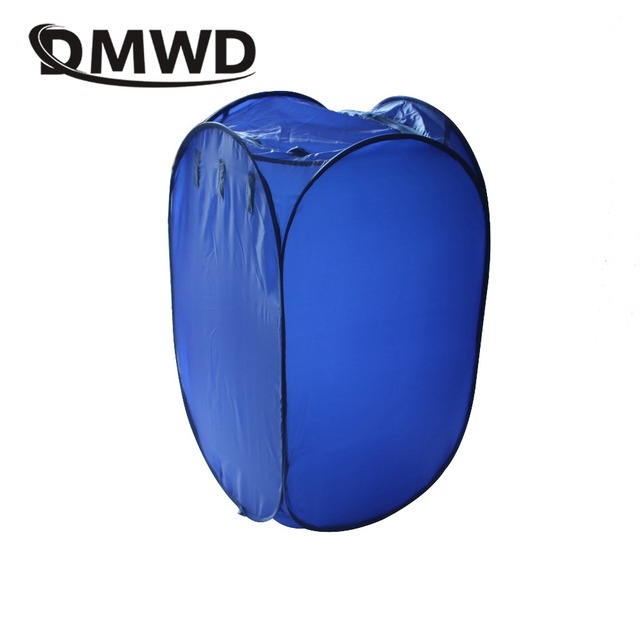 DMWD Mini Portable Garment Dryer Electric Laundry Air Warmer Wardrobe Dehydrator Foldable Baby Clothes Quick Drying Machine Rack 1