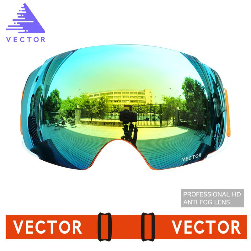 f7fd05f0e477 Men Women Double Lens Anti fogging Large Sphere Windshield Goggles Outdoor  Climbing Skiing and Snowboarding Glasses-in Skiing Eyewear from Sports ...