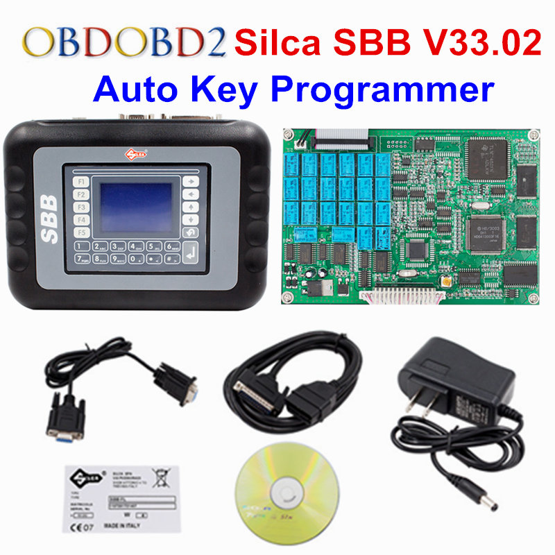 2017 Professional Universal Auto Key Programmer SBB V33.02 Silca SBB Immobilizer Key Maker 9 Languages For Multi-Brand Cars