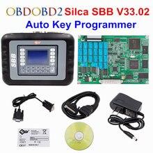 Promo 2017 Professional Universal Auto Key Programmer SBB V33.02 Silca SBB Immobilizer Key Maker 9 Languages For Multi-Brand Cars