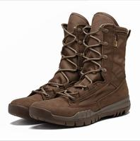 2018 Outdoor Hiking Shoes Men's Desert High top Military Tactical Boots Men Combat Army Boots Militares Sapatos Masculino rax