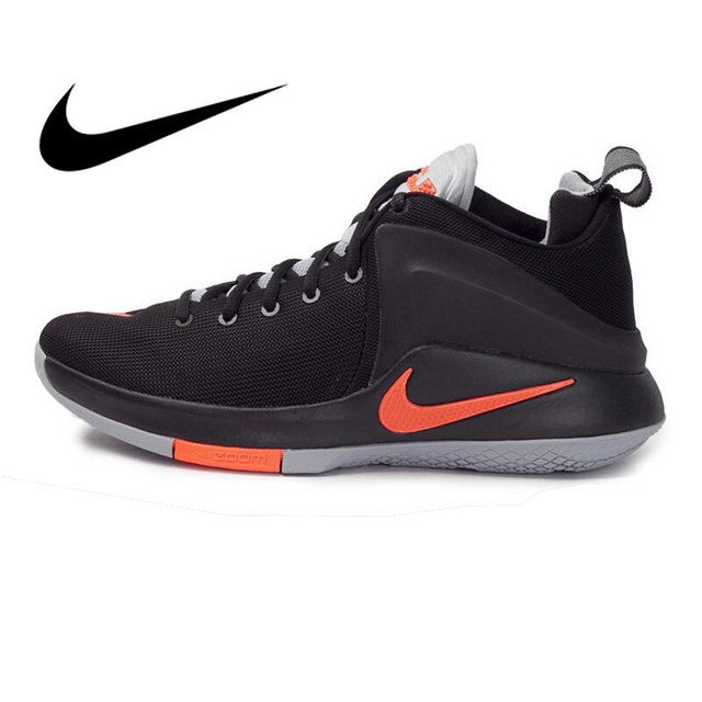 on sale 563e4 ba55b Original 2018 NIKE ZOOM WITNESS EP Men s Basketball Shoes JBJ High Cut  Breathable Sneakers Athletics Durable Shoes Men 884277-in Basketball Shoes  from ...