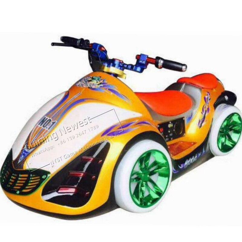 ילדים ומבוגרים שעשועים פרק יריד פלאזה Moto מירוץ משחקים רוכב לילדים משחקים ארקייד משחק מכונת סוללה פגוש רכב