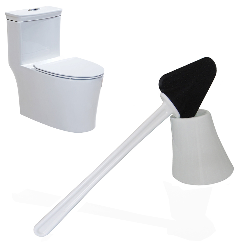 Wc Universal Rubber Cleaning Brush Multifunctional Bathroom Long Handle Toilet Cleaning Brush