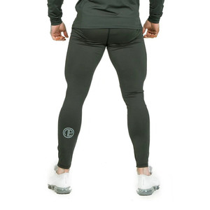 Image 5 - Hommes collants de Compression pantalons longs pantalons Joggers Leggings pantalon Joggers coupe ajustée Hombre Slim Fitness gymnases entraînement pantalon