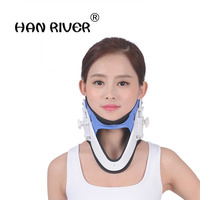 Anatomical supports adjustable neck necklace neck collar equipment support cervical traction apparatus body massager