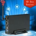 2.5 ''3.5'' USB 3.0 para docking station SATA HDD Wi-fi 5 Gbps HDD Recinto Caso Suporte 6 TB de Disco Rígido Sem Fio Wi-fi router