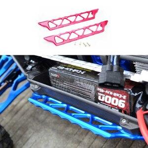 Обновленная деталь для радиоуправляемого автомобиля, алюминиевые боковые ступенчатые беговые платы для 1/5 Traxxas XMaxx X-Maxx 6S 8S