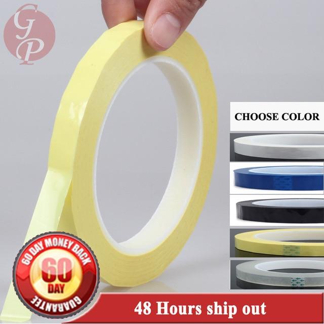 Цвет выбрать, 1x (50 мм * 66 м * 0.06 мм) изоляционные Майларовый Клейкие ленты для LED Трансформатор Двигатель Обёрточная бумага, катушки pack, привет...
