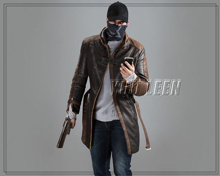 Hut Cosplay Kappe Spiel Kostüm Satz Aus Pearce Us5 Aiden Wind Gesicht Maske Ein Hunde Kostüme Mantel 99uhr Schal In N0Ov8mnw