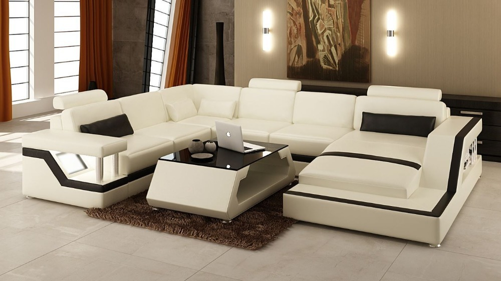 Sofa Bedmodern Set Living Room Furnitureleather Sectional