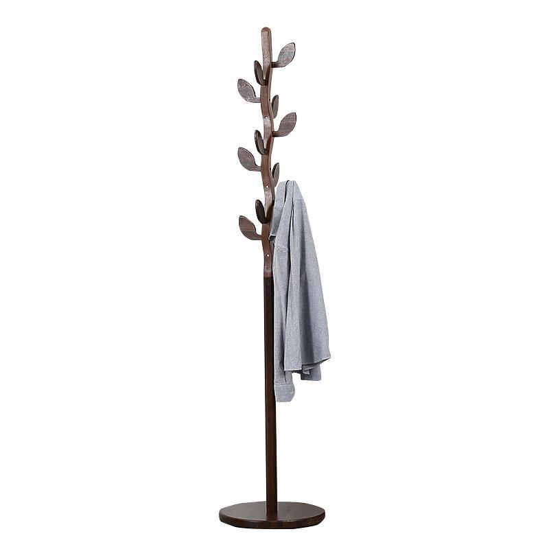 coat rack floor curved leaves wood Wooden walnut creative bedroom hanger bosi fresh leaves quick pruner 8 200mm curved by pass pruner shear