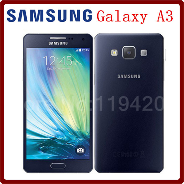 100% Original Unlocked Samsung Galaxy A3 A3000 A300F Quad