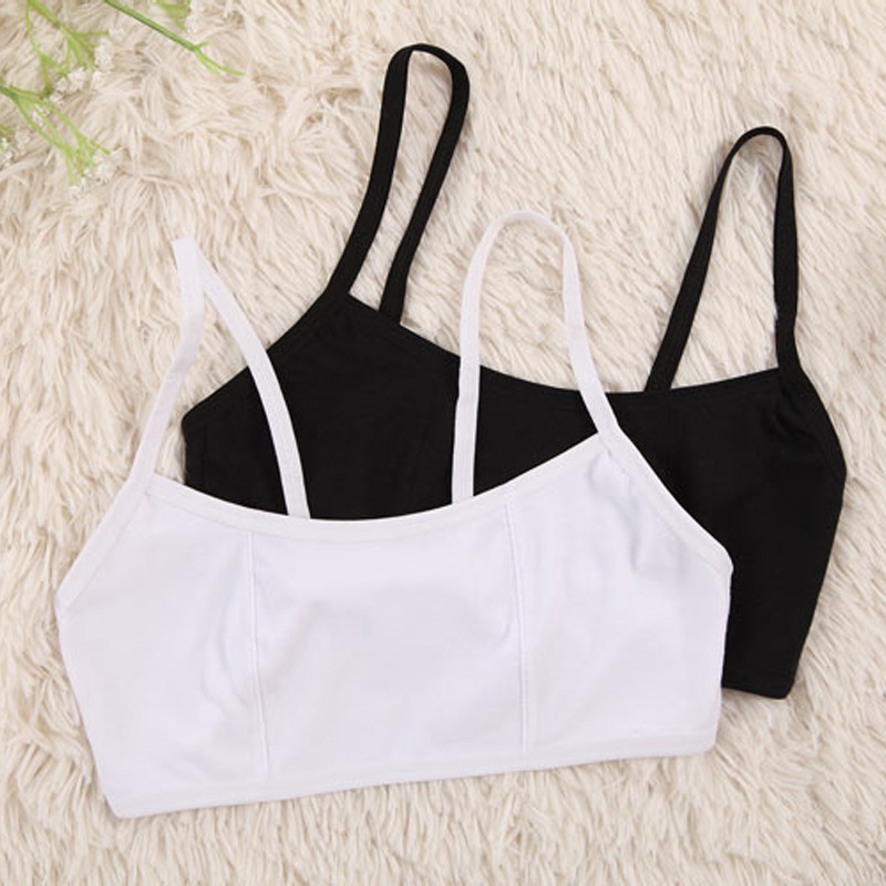 Teenage Girl Underwear Puberty Young Girls Small Bras Child Teen Training Bra For Kids Teenagers Girl Undergarments Soft Cotton