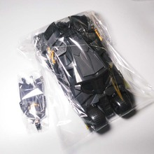 Two In One Awesome Batman Tumbler Batmobile Toy Action Figure PVC With Sticker As Gift