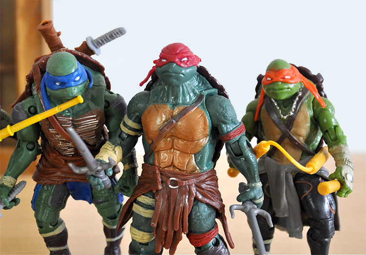 Children's Gift   4 Pieces/set Turtles Toy The Joints Can Mover Freely Ninja Doll
