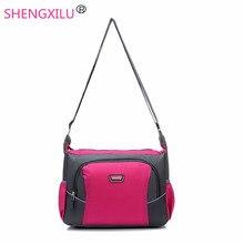 Shengxilu bonbons couleurs femmes bandoulière sac filles sac à main occasionnel voyage étanche épaule femelle de sac de messager