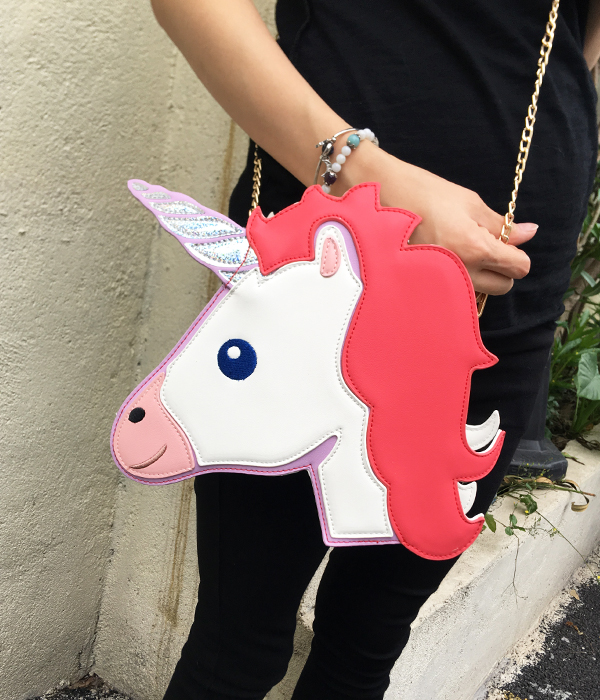 HTB1GO6dRXXXXXXRXXXXq6xXFXXXu - Unicorn Handbag women Shoulder Bag Cute